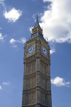 Big Ben (blue sky) photo