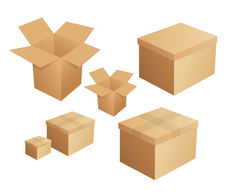 Box packaging Stock Vector - 20681245