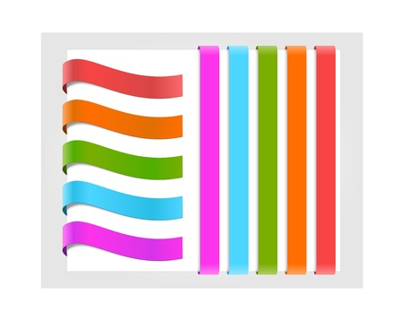 low prizes: Set of colorful paper labels