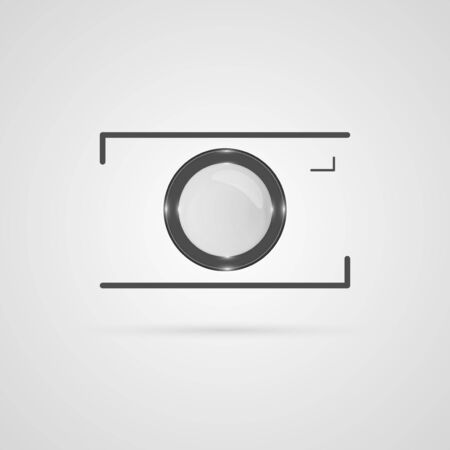 Camera icon  Design elements  Vector