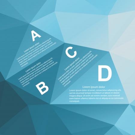 Geometrie Infographic. illustratie.