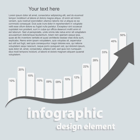Abstract infographic. Design elements. Vector illustration. Vector