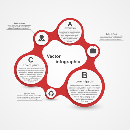 Modern infographic. Design elements. Vector illustration. Vector