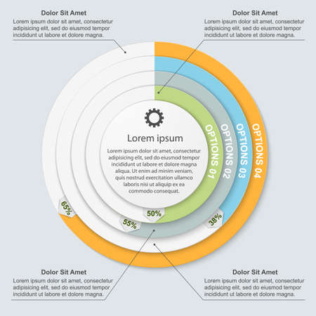 Modern infographic. Design elements Vector