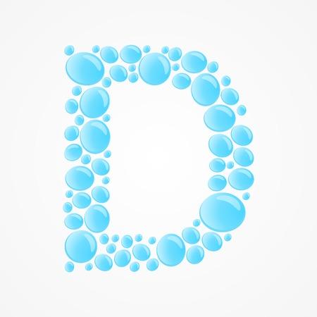 Alphabet  Letter D Vector
