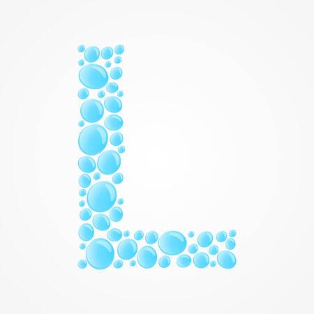 Alphabet  Letter L Vector