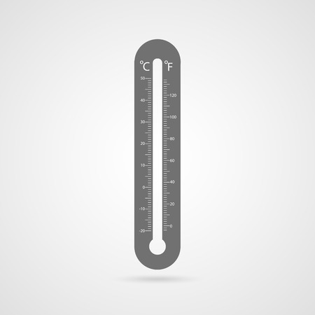 Vector thermometer icon. Vector