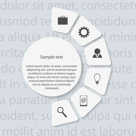 Modern infographic. Design elements. Vector