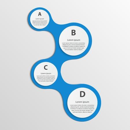 Modern infographic. Design elements. Stock Vector - 27244021