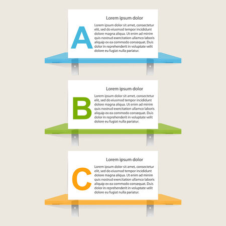 Infographic design template illustration Vector
