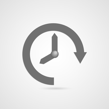 clock: time icon