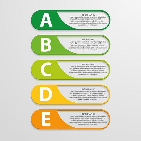 Kleurrijke infographic ontwerp op de grijze achtergrond. Stockfoto - 29725684