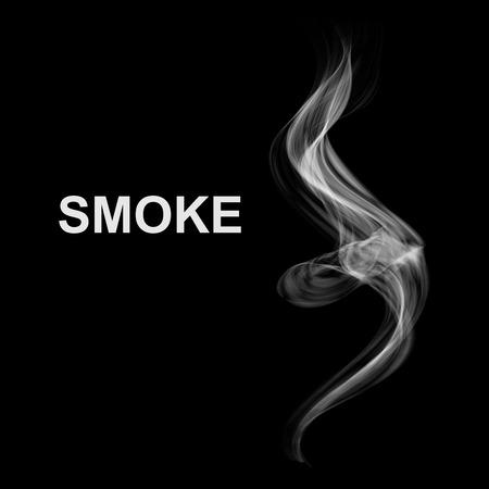 humo: Fondo abstracto del vector humo