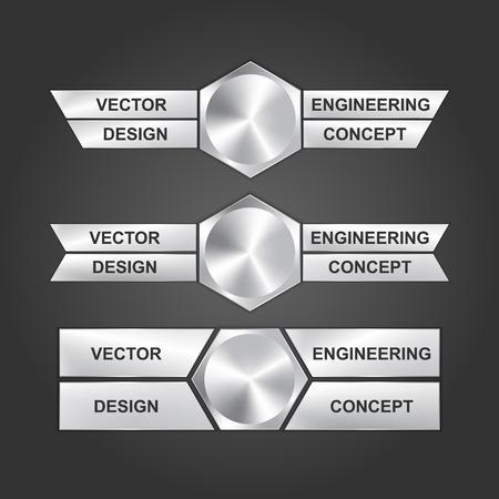 design engineering: Vector design engineering concept.