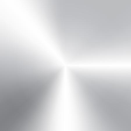 brushed aluminum: Vector textura de aluminio cepillado circular Vectores