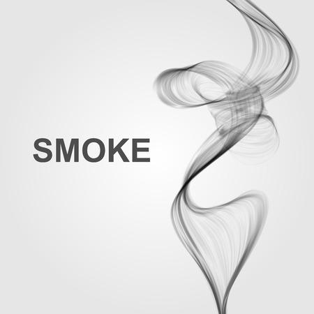 fumar: Fondo abstracto del vector humo