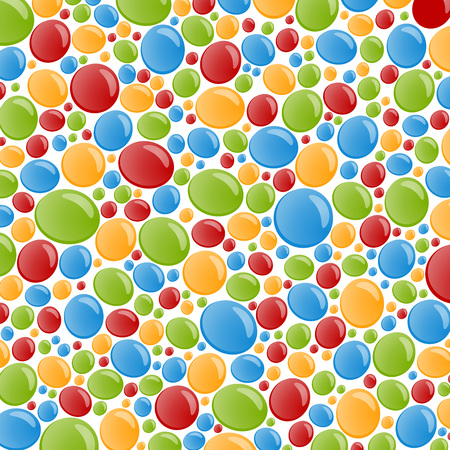 bubble background: Abstract colorful bubble background Illustration
