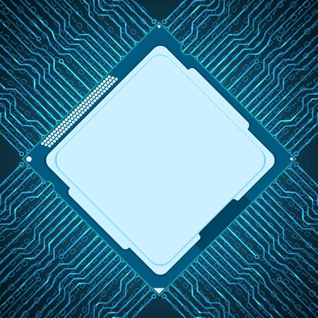 nformation: Abstract circuit board background. Vector Illustration.