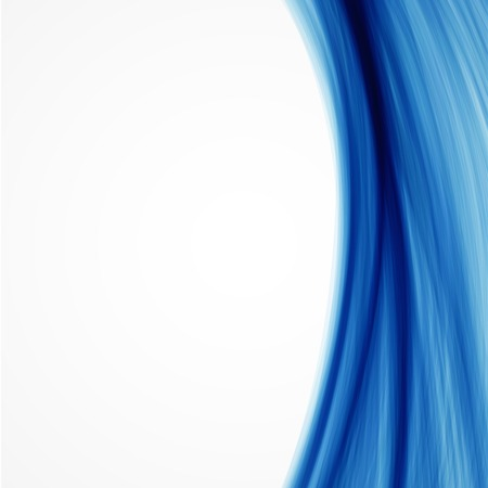 Vector abstract blue wave background 일러스트