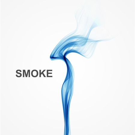 abstract smoke: Vector abstract blue smoke background.