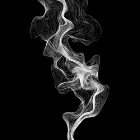 abstract line: Vector abstract smoke background