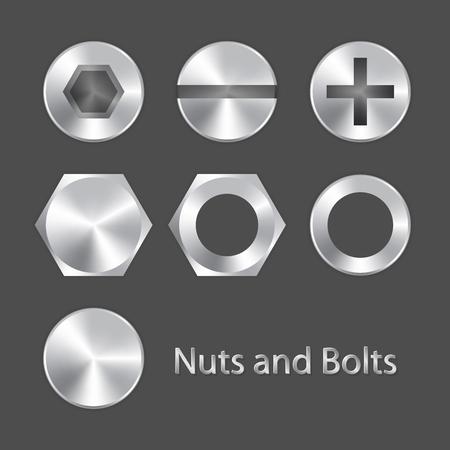 tuercas y tornillos: Tuercas y tornillos