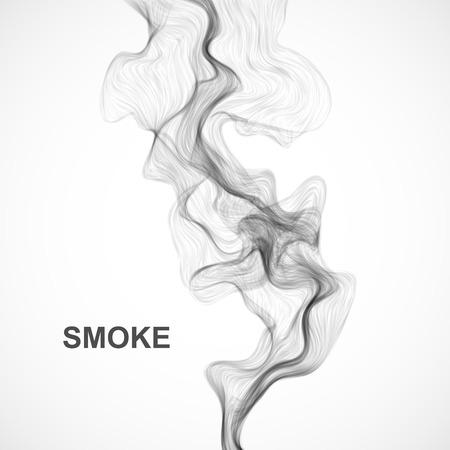 abstract smoke: Vector abstract smoke background. Vector illustration.