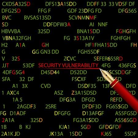 추상 기술 보안 컴퓨터 배경입니다.