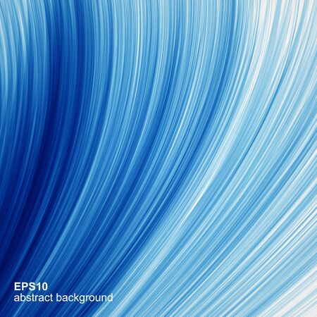 editable: Vector abstract blue waves background. Illustration