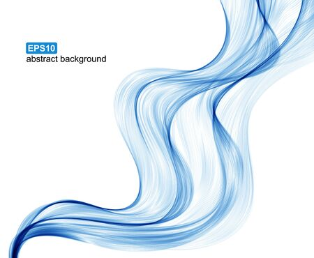 abstract waves: Vector abstract waves background.