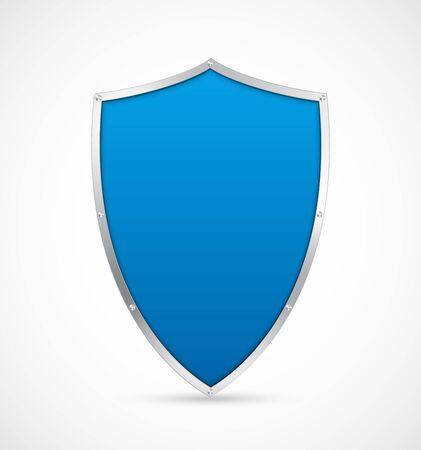 Shield icon. Vector illustration. Illustration