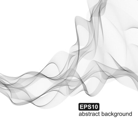 Abstract vector smoke background