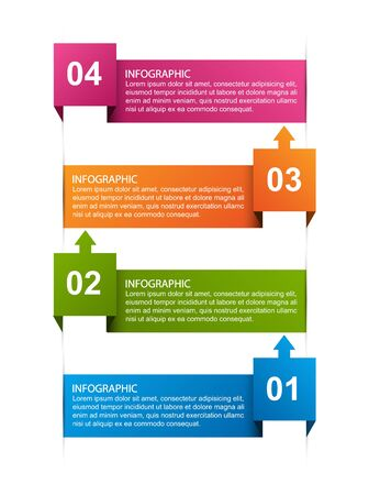 Infographics template. Infographics for business presentations or information banner.