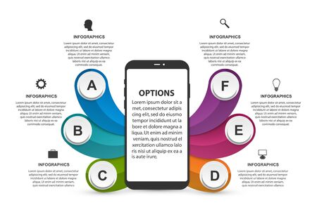 Technology Infographics Template. Vector illustration.