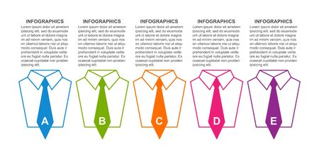 Business infographic template. Infographics for business presentations or information banner.
