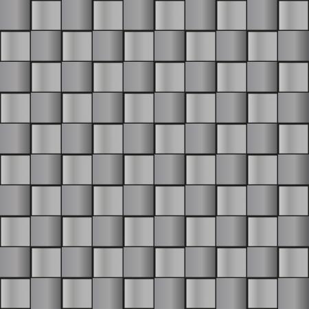Seamless pattern - in colors of metal  grey