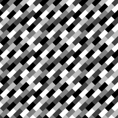 greyscale: Seamless greyscale  white to black  brick pattern  Illustration