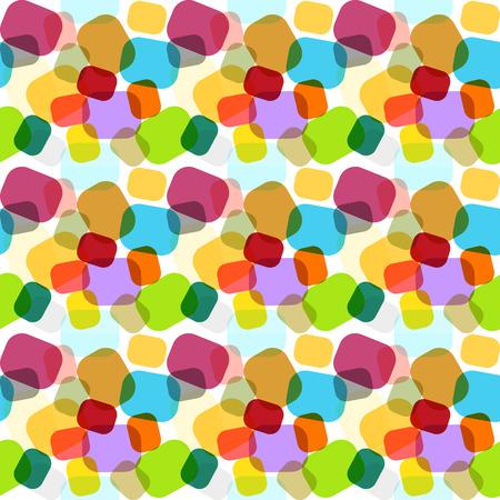 キャンディ スタイルで幾何学的な装飾品で虹の色の無限のモザイク パターン 写真素材 - 25996092