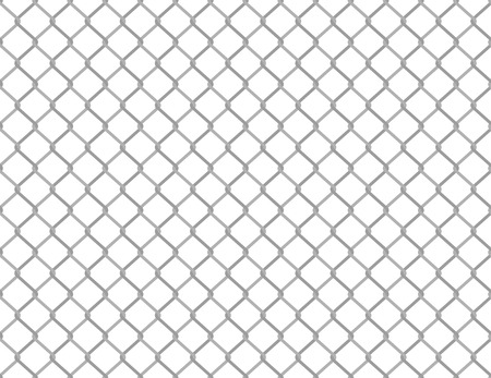 Simple seamless wired fence pattern in two shades of grey Vector