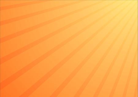 黄色 - オレンジ色のグラデーション背景右上隅から日差しに 写真素材 - 28028656