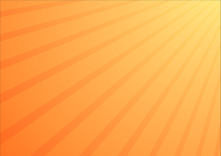 Yellow - orange gradient background with sunrays from upper right corner
