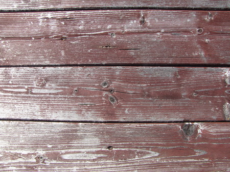 Detail of old red-brown wood texture photo