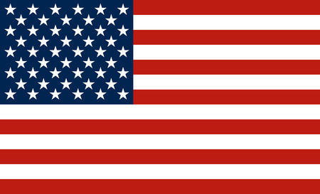 The national flag of the United States of America  The Stars and Stripes, Old Glory  Vector