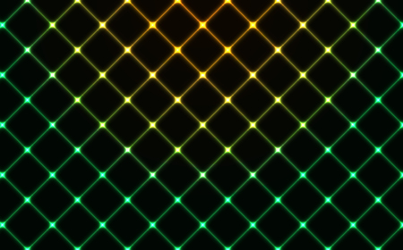 Dark wired fence glowing background with neon effect