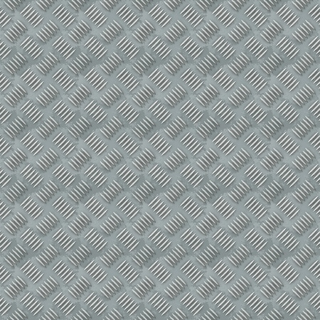 Illustration of seamless grey industrial metal surface