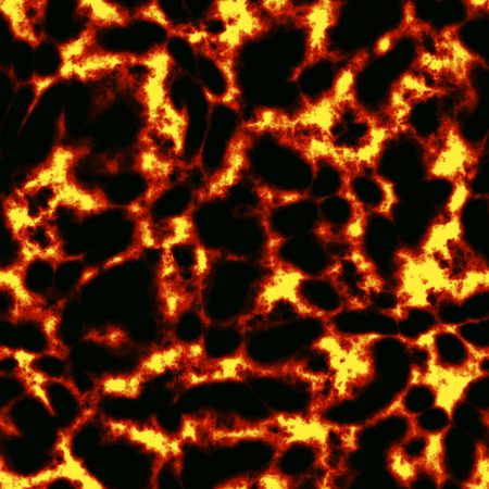 シームレスな赤い溶岩のテクスチャ (背景) の図 写真素材 - 33355582