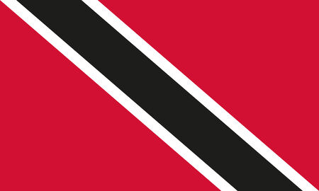 national flag trinidad and tobago: National flag of Trinidad and Tobago in official colors and proportions (The Sun-Sea-Sand Banner)