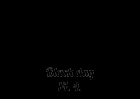 unattached: Poster (background) for Black day - 14.4 Illustration