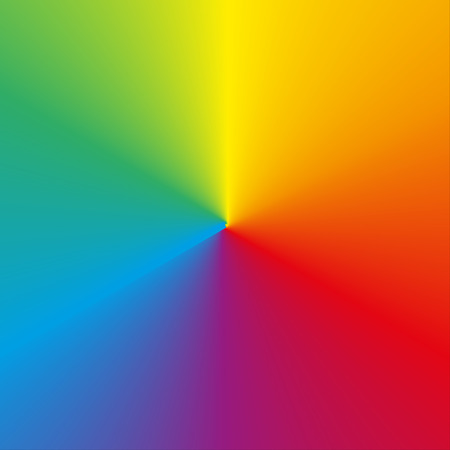 gradients: Background made of circular rainbow (spectrum) gradient
