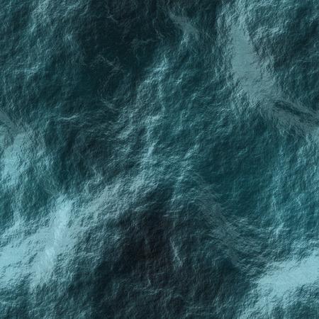 ダークブルーの海波の図 (シームレス パターン) と嵐の中に水 写真素材